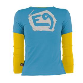 E9 B Bissa Midlayer Børn gul/blå
